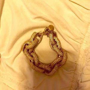 Jcrew rhinestone pave link bracelet